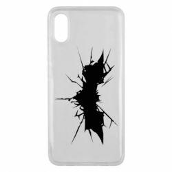 Чехол для Xiaomi Mi8 Pro Batman cracks - FatLine