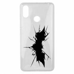 Чехол для Xiaomi Mi Max 3 Batman cracks - FatLine