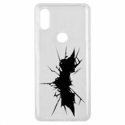 Чехол для Xiaomi Mi Mix 3 Batman cracks - FatLine