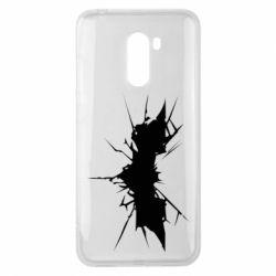 Чехол для Xiaomi Pocophone F1 Batman cracks - FatLine