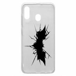 Чохол для Samsung A20 Batman cracks
