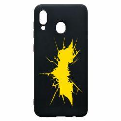 Чохол для Samsung A30 Batman cracks