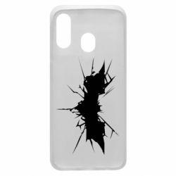 Чохол для Samsung A40 Batman cracks