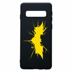 Чохол для Samsung S10 Batman cracks