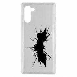 Чохол для Samsung Note 10 Batman cracks