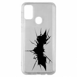 Чохол для Samsung M30s Batman cracks