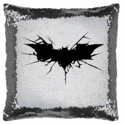 Подушка-хамелеон Batman cracks