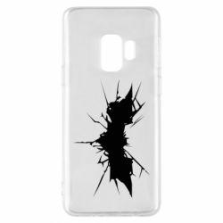 Чехол для Samsung S9 Batman cracks - FatLine