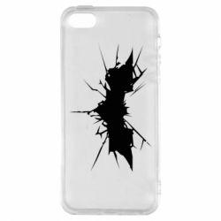 Чехол для iPhone5/5S/SE Batman cracks - FatLine