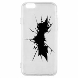 Чехол для iPhone 6/6S Batman cracks - FatLine
