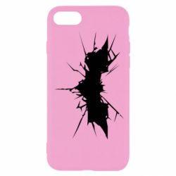 Чехол для iPhone 7 Batman cracks - FatLine