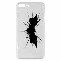 Чехол для iPhone 7 Plus Batman cracks - FatLine