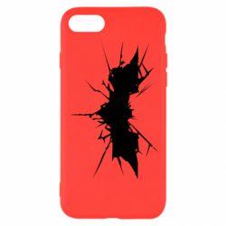 Чехол для iPhone 8 Batman cracks - FatLine
