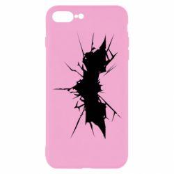Чехол для iPhone 8 Plus Batman cracks - FatLine