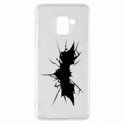Чехол для Samsung A8+ 2018 Batman cracks - FatLine