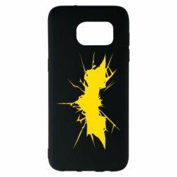 Чехол для Samsung S7 EDGE Batman cracks - FatLine
