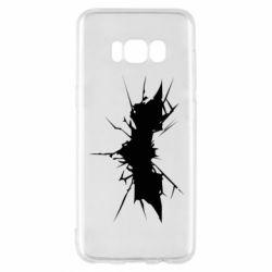 Чехол для Samsung S8 Batman cracks - FatLine