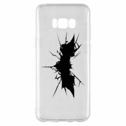 Чехол для Samsung S8+ Batman cracks - FatLine