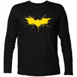 Футболка с длинным рукавом Batman cracks - FatLine