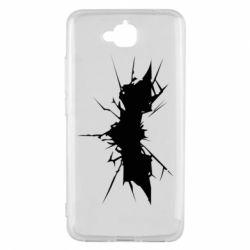 Чехол для Huawei Y6 Pro Batman cracks - FatLine