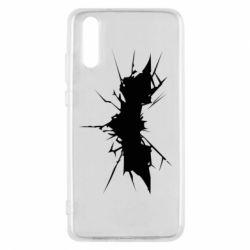 Чехол для Huawei P20 Batman cracks - FatLine