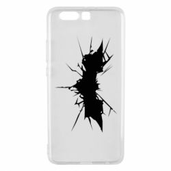 Чехол для Huawei P10 Plus Batman cracks - FatLine