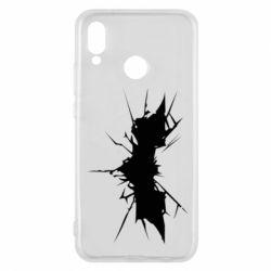 Чехол для Huawei P20 Lite Batman cracks - FatLine