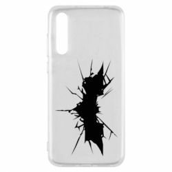 Чехол для Huawei P20 Pro Batman cracks - FatLine