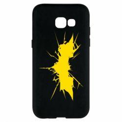 Чехол для Samsung A5 2017 Batman cracks - FatLine