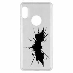 Чехол для Xiaomi Redmi Note 5 Batman cracks - FatLine