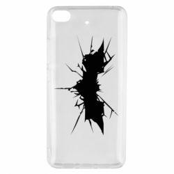 Чехол для Xiaomi Mi 5s Batman cracks - FatLine