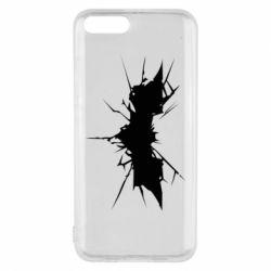 Чехол для Xiaomi Mi6 Batman cracks - FatLine