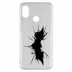 Чехол для Xiaomi Mi8 Batman cracks - FatLine