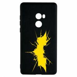 Чехол для Xiaomi Mi Mix 2 Batman cracks - FatLine