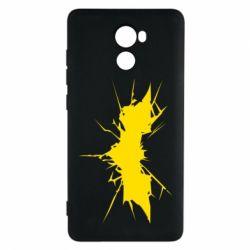 Чехол для Xiaomi Redmi 4 Batman cracks - FatLine
