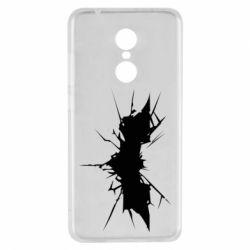 Чехол для Xiaomi Redmi 5 Batman cracks - FatLine