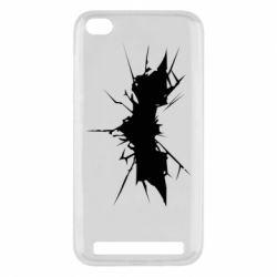 Чехол для Xiaomi Redmi 5a Batman cracks - FatLine