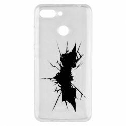 Чехол для Xiaomi Redmi 6 Batman cracks - FatLine