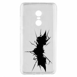 Чехол для Xiaomi Redmi Note 4 Batman cracks - FatLine