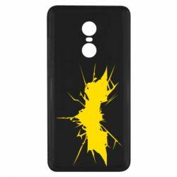Чехол для Xiaomi Redmi Note 4x Batman cracks - FatLine