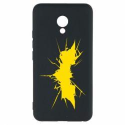 Чехол для Meizu M5 Batman cracks - FatLine