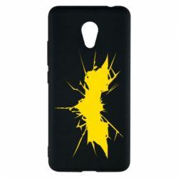 Чехол для Meizu M5c Batman cracks - FatLine