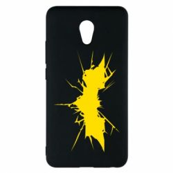 Чехол для Meizu M5 Note Batman cracks - FatLine
