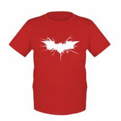Детская футболка Batman cracks - FatLine