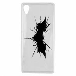 Чехол для Sony Xperia X Batman cracks - FatLine