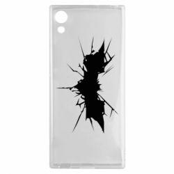 Чехол для Sony Xperia XA1 Batman cracks - FatLine