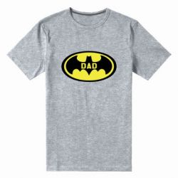 Чоловіча стрейчева футболка Batman dad