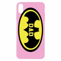 Чехол для iPhone X/Xs Batman dad
