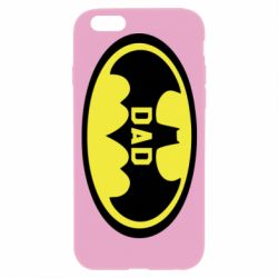 Чехол для iPhone 6/6S Batman dad