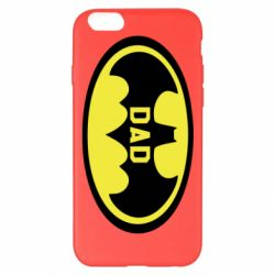Чехол для iPhone 6 Plus/6S Plus Batman dad